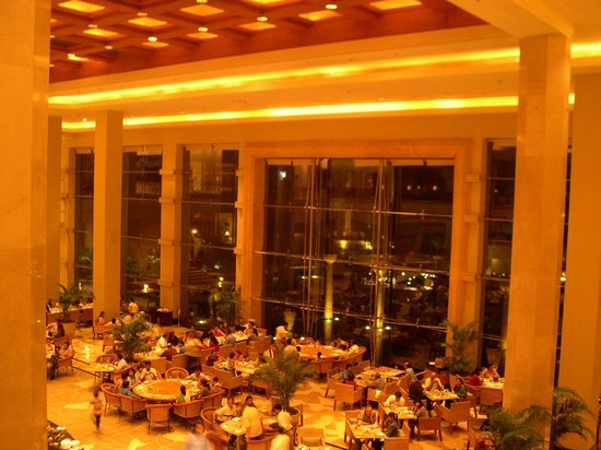 JW Marriott Mumbai Juhu: beautiful view of the dinning area from the Foyer