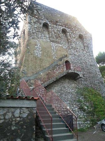 Torre Turbolo Appartamenti: Treppenaufgang zu den Apartments