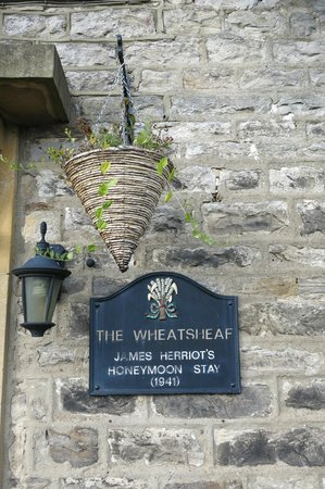 The Wheatsheaf in Wensleydale: James Herriot was here!
