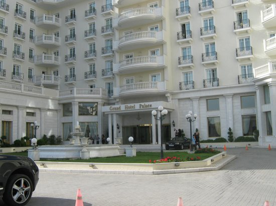 Grand Hotel Palace Thessaloniki: вид на отель