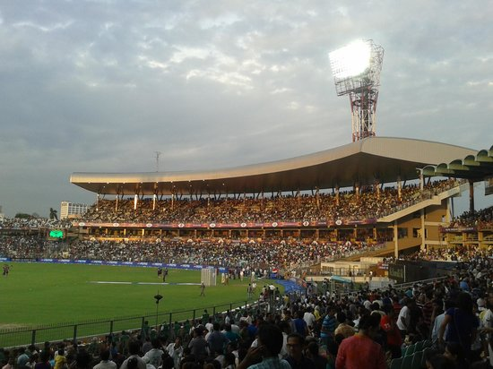 Eden Garden During Kkr Vs Chennai Ipl T2o Match April