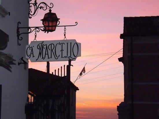 Agriturismo Ca' Marcello: Al tramonto
