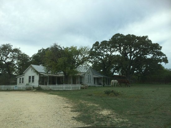 Hill Country Equestrian Lodge: Main House