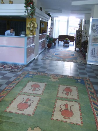 Temple Class Hotel : reception