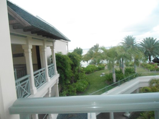 The Residence Mauritius: View from our balcony