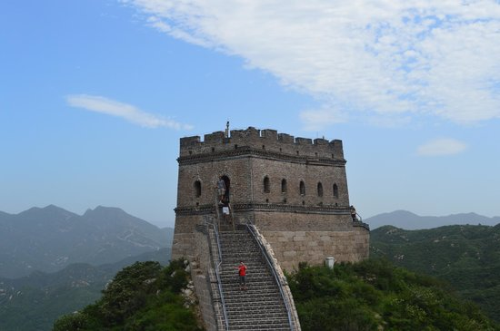 The Great Wall Hike (James Private Tour) : Башня стены