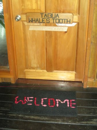 Namale the Fiji Islands Resort & Spa: Door to suite