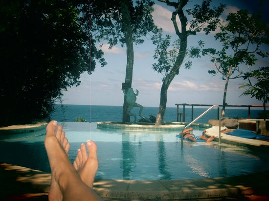 Namale the Fiji Islands Resort & Spa: Lounging by pool