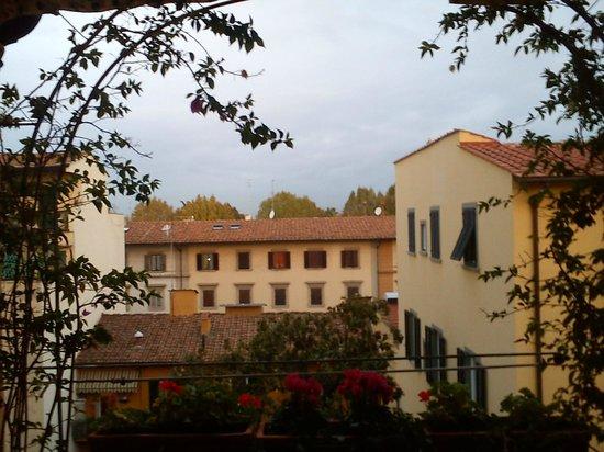 Hotel Andrea: Вид из кафе отеля