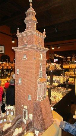 Krakowska Manufaktura Czekolady: Chokolade tårn