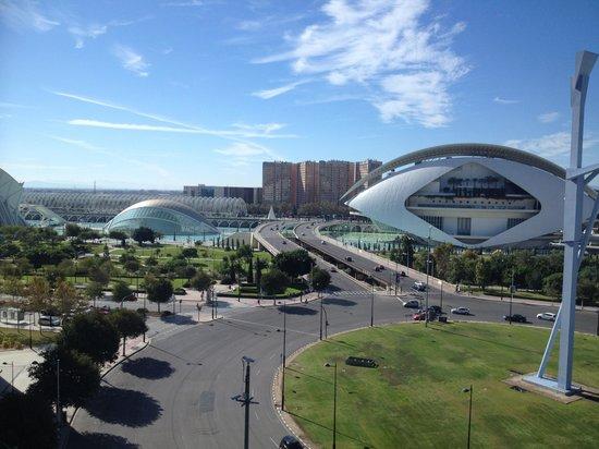 Barcelo Valencia: Vistas desde la habitación