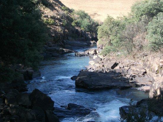 Umzimkulu River Lodge: Mighty Umzimkulu River