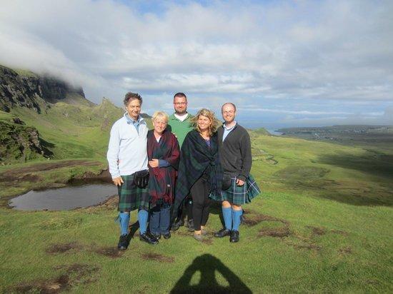 About Scotland: our fist kilts