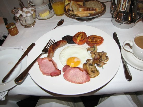 Cliff TownHouse: Full Irish Breakfast