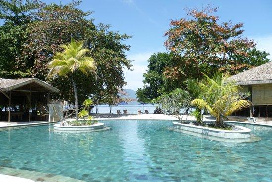 Siladen Resort & Spa: der Pool