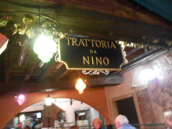 Trattoria da Nino: Típico e agradável