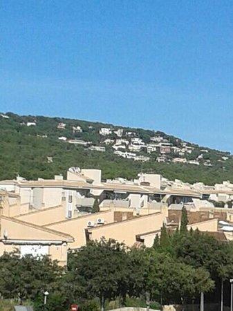 Hotel Gabarda & Gil : from balcony at day