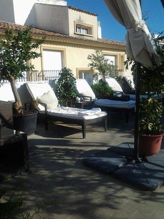 Babylon Hotel: The wonderful roof terrace