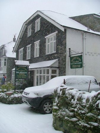 Mosscrag B&B: Mosscrag Guest House in the snow