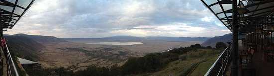 Ngorongoro Wildlife Lodge : view from terrace