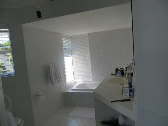 Diamond Guest House: bathroom with bath and shower