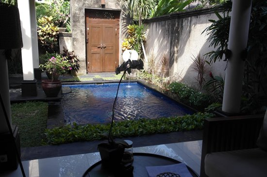 Kamuela Villas and Suite Sanur: Pool inside Villa