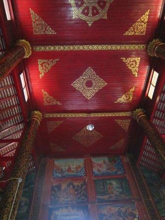 Wat Jed Yod : Impressive Ceiling