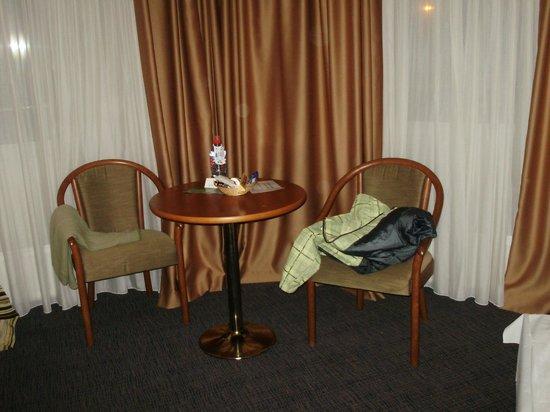 Plaza Alta: зона отдыха в номере