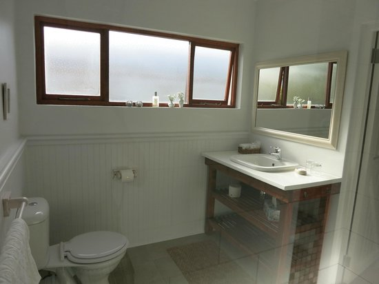 Beluga House: beautiful new bathroom