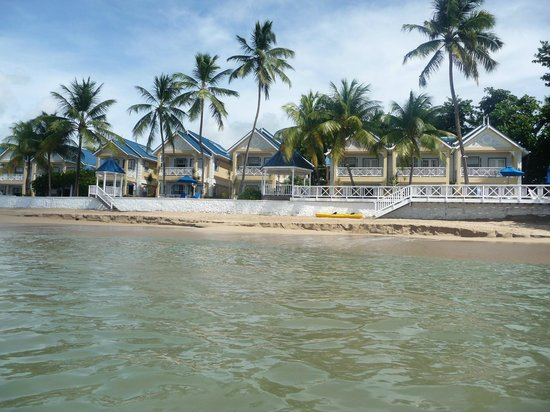 Villa Beach Cottages: VBC from the kayak