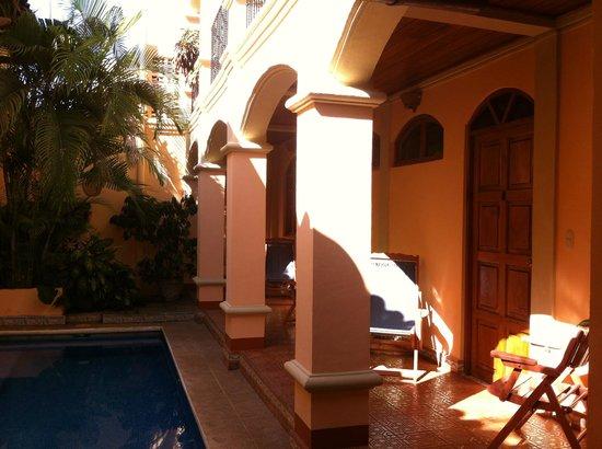 Casa San Francisco: the pool