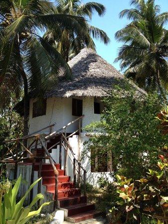 Ndame Beach Lodge Zanzibar : garden