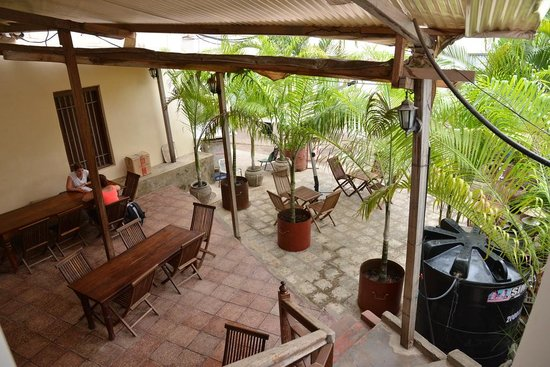 Stone Town Cafe and Bed & Breakfast: garden