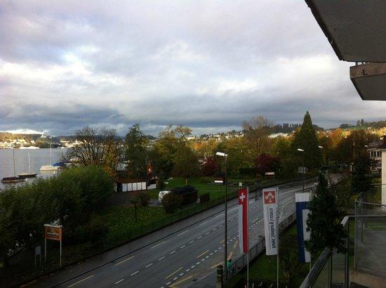 Hotel Seeburg: Vue depuis la chambre