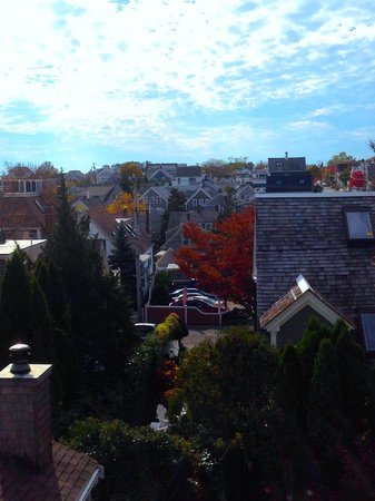 Revere Guest House: View from top balcony