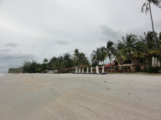 Casa del Mar, Langkawi: 從海灘看房間