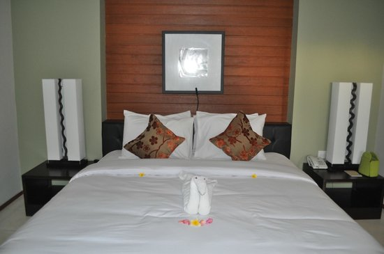 K2 Stylish Hotel: the bed is comfortable