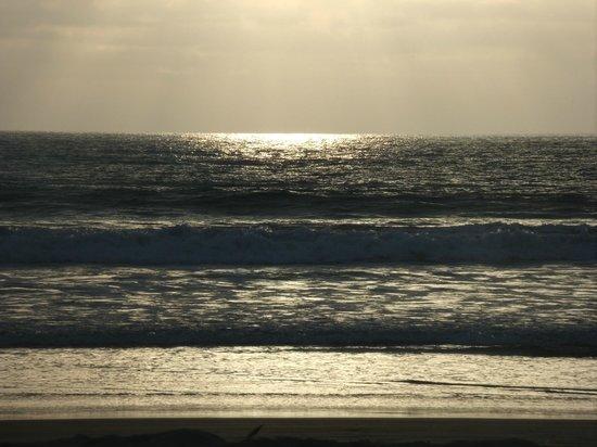 Hosteria La Gondola: La playa.