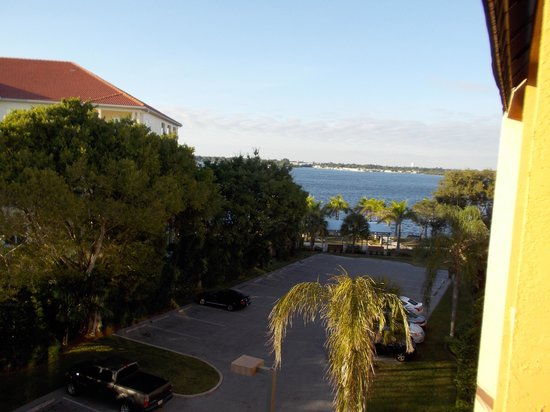Courtyard Bradenton Sarasota/Riverfront: room with a view