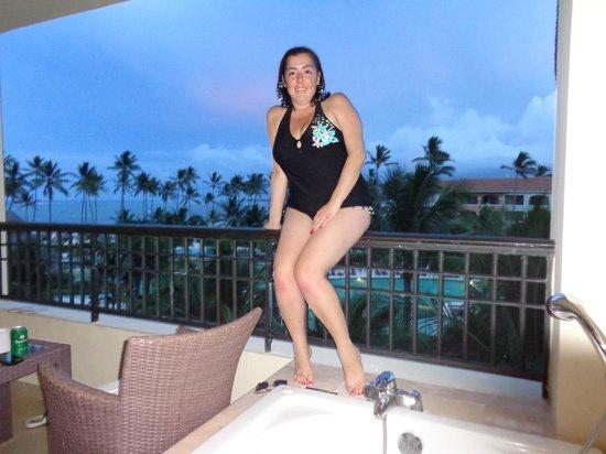 Now Larimar Punta Cana: Balcony Fun