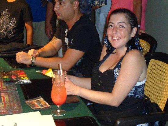Now Larimar Punta Cana: Finger Painting