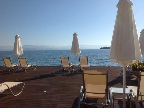 Kontokali Bay Resort and Spa: пляж, море, отель