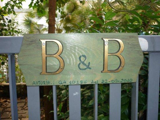 Il Giardino Casamari B&B : Eingang