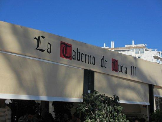 La Taberna de Lucia III: Outside terrace