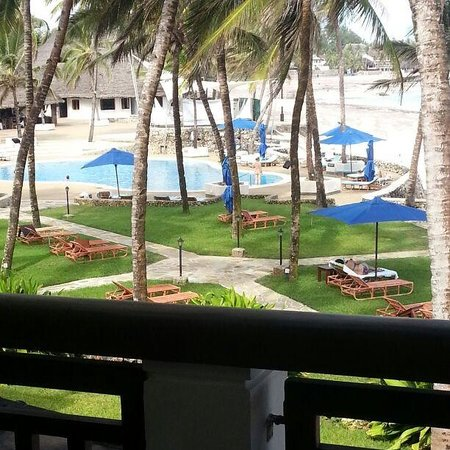 Hemingways Watamu: view from our room.. :)