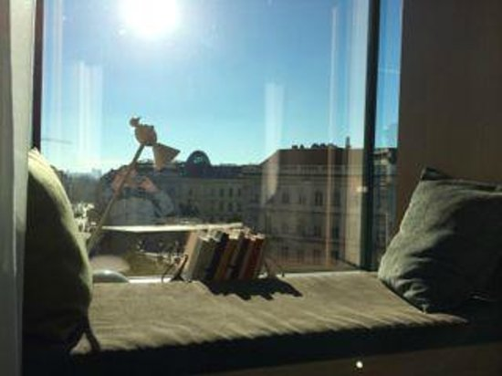 The Guesthouse Vienna: View from high floor
