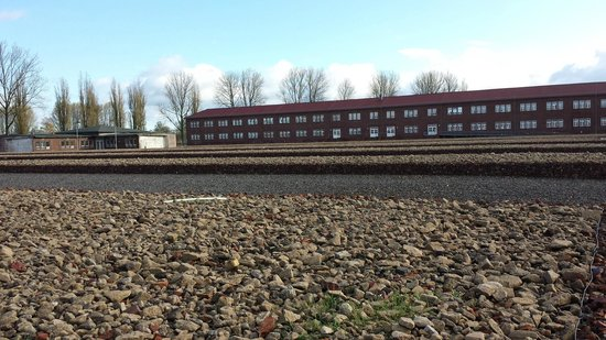 Neuengamme Concentration Camp Memorial: The main museum/exhibition building