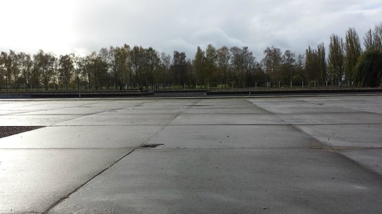 Neuengamme Concentration Camp Memorial: View of the grounds