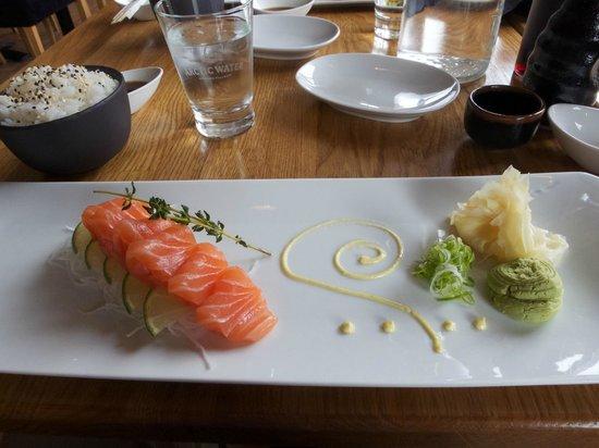 Ra Sushi & Bar: We kept it simple