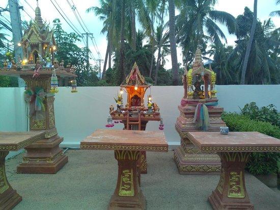 Lamai Buri Resort: Главный вход в отель